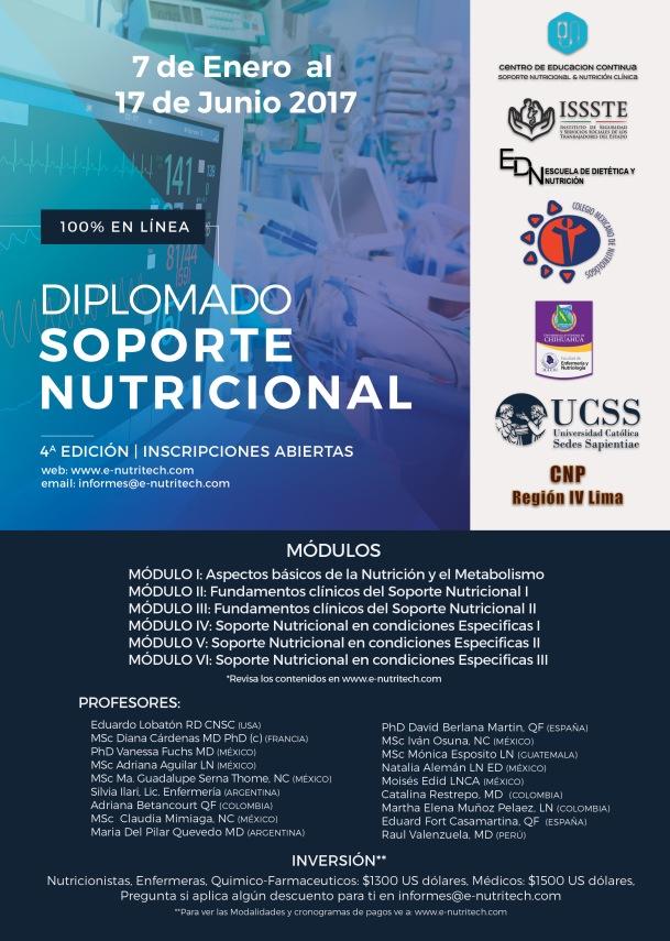 Diplomado en Soporte Nutricional